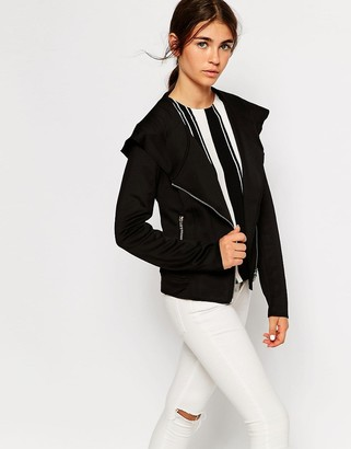 Only Jacket With Asymmetric Zip
