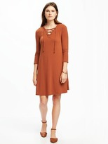 Old Navy Lace-Front Swing Dress for Women