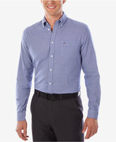 Tommy Hilfiger Men's Slim-Fit Comfort-Wash Blue Check Dress Shirt