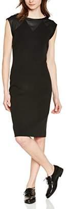 Naf Naf Epois R1 - YENR6 Women's Pencil Dress,6 UK (34 EU)