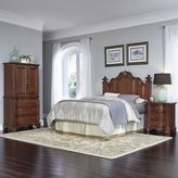 Home Styles Santiago Headboard, Two Night Stands, and Door Chest