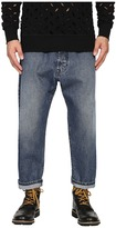 Vivienne Westwood Samurai Crop Jeans in Blue Denim