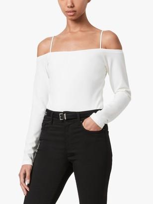 AllSaints Audery Off-Shoulder Bodysuit