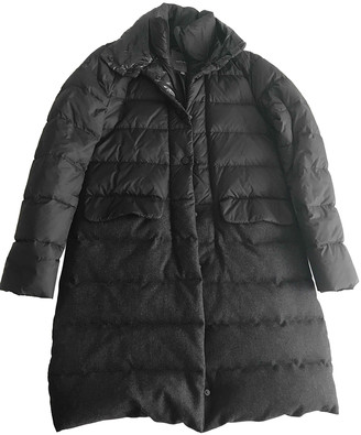 Duvetica Anthracite Synthetic Coats