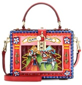 Dolce & Gabbana Dolce Box embellished wooden shoulder bag