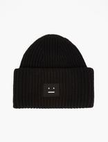 Acne Studios Black Pansy Wool Hat