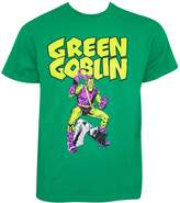 Impact Marvel Men's Goblin Classic Fitting Cotton T Shirt Kelly