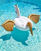 Funboy Pegasus Giant Pool Float, White/Golden