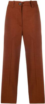 Cavallini Erika high waisted cropped trousers