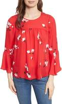 Joie Awilda Bell Sleeve Silk Top