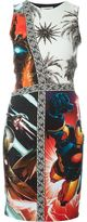 Fausto Puglisi multi-print dress