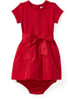 Ralph Lauren Girl Fit-And-Flare Dress & Bloomer