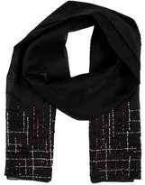 Burberry Silk Bead-Embellished Scarf
