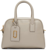 Marc Jacobs Taupe Gotham Small Bauletto Bag