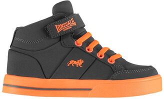 Lonsdale London Canons Childrens Hi Top Trainers