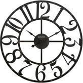 Bulova 45 in. H x 45 in. W Round Wall Clock