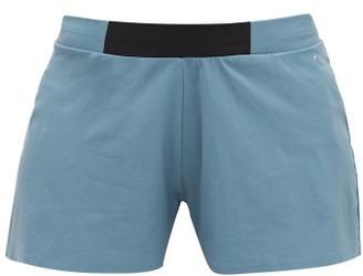 Falke Logo-print Stretch-technical Running Shorts - Womens - Blue