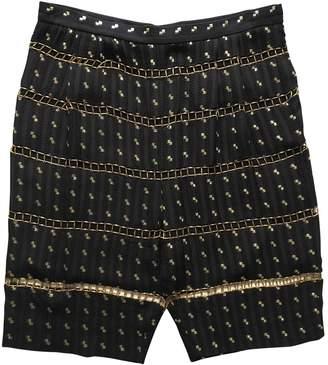 Chloé \N Black Silk Shorts