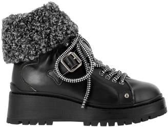 Miu Miu Flat Booties Shoes Women