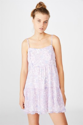 Cotton On Woven Jordy Ruffle Mini Dress