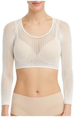 Spanx Herringbone Arm Tights (Soft White) Women's T Shirt