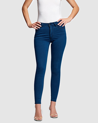 RES Denim Women's Blue Skinny - Kitty Skinny Jeans - Size One Size, 24 at The Iconic