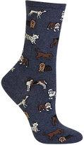 Hot Sox Women's Dogs Trouser Socks