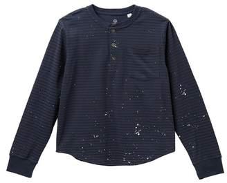 AG Jeans Yarn Dye Henley Tee (Big Boys)