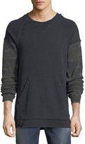 Hudson Striker Camo-Sleeve Sweatshirt
