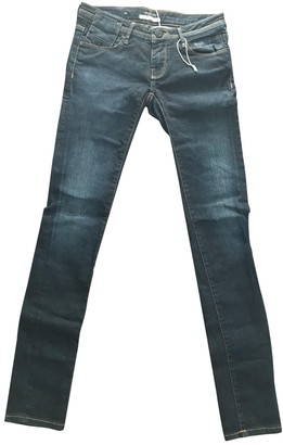 Maison Scotch Blue Cotton - elasthane Jeans for Women
