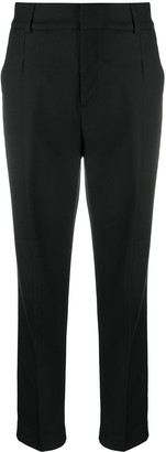 Anine Bing Mid-Rise Tailored Trousers