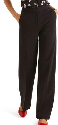 Boden Hampshire Wide Leg Ponte Pants
