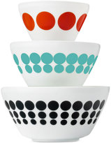 Vintage Charm inspired by Pyrex Spotted Too 6-Pc. Mixing Bowl Set