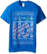 Freeze Men's Ugly Christmas Dashing Through the No T-Shirt