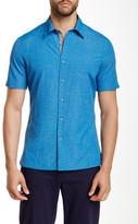 Perry Ellis Short Sleeve Button Shirt