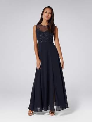 Ever New Carissa Lace Bodice Maxi Dress