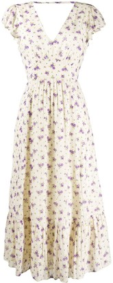 Masscob Floral Print Dress
