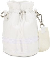 Courreges MINI EXTENDABLE TECHNO BUCKET BAG