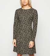 New Look Petite Floral Soft Touch Skater Dress