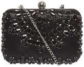 Black Jewel Box Clutch