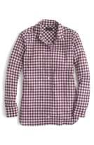 J.Crew J. CREW Crinkle Gingham Boy Shirt