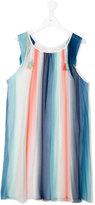 Chloé Kids - striped dress - kids - Silk/Viscose - 14 yrs