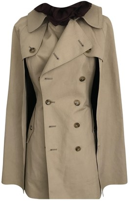 Junya Watanabe Beige Cotton Trench Coat for Women