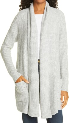 Line Novah Thermal Knit Cotton & Cashmere Blend Cardigan