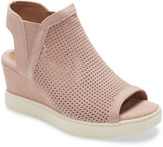 Sofft Basima Perforated Wedge Sandal