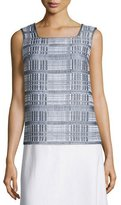 Lafayette 148 New York Kirsta Woven Sleeveless Blouse