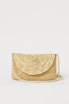 H&M Small Straw Shoulder Bag