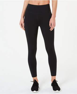 Calvin Klein Mesh-Inset Ankle Leggings