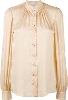 Lanvin band collar blouse