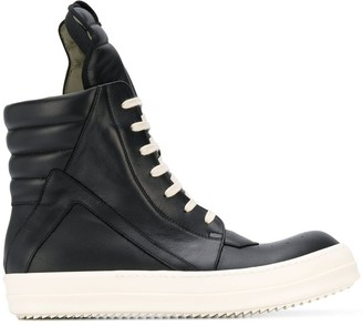 Rick Owens Oversize Tongue Sneakers